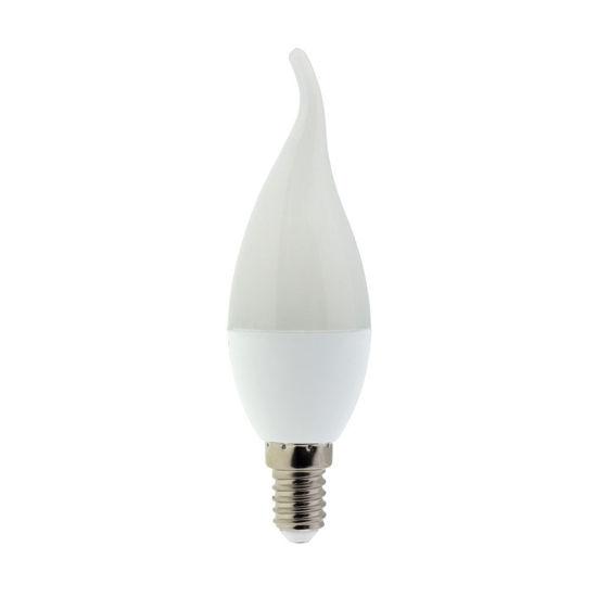 Εικόνα της Led Κερί Φλόγα C35 E14 6Watt Θερμό Λευκό