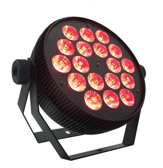 Εικόνα της 18*10W Flat Aluminium LED PAR Light 180W RGBW