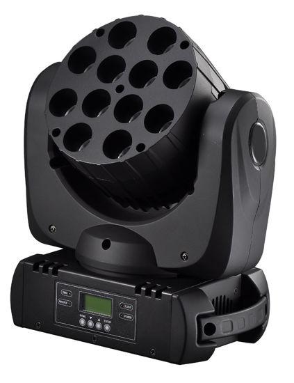 Εικόνα της 12x10w LED Κινούμενη κεφαλή RGBW 150W RGBW