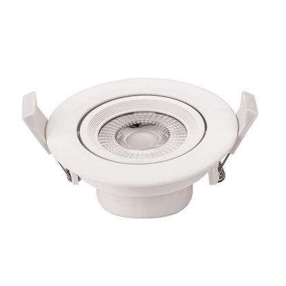 Εικόνα της LED COB Downlight Στρογγυλό Περιστρεφόμενο 5W Φυσικό Λευκό
