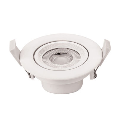 Εικόνα της LED COB Downlight Στρογγυλό Περιστρεφόμενο 5W Θερμό Λευκό